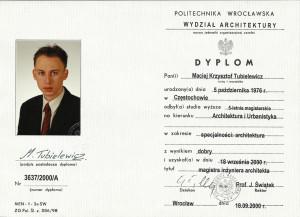 Architekt Częstochowa dyplom