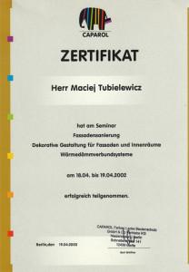Architekt Częstochowa certyfikat